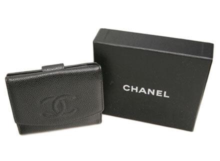 シャネル-財布-買取